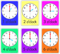 Time Flashcards (Hours)