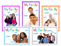My Family Poster Pack