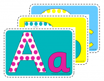 2. Upper and Lower Alphabet Poster Pack