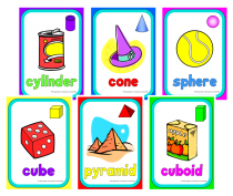 3. 3D Shapes Cue Cards