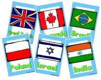 3. Flags Of The World Cue Cards