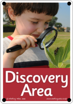 Discovery Area Outdoor Sign - Photo Version
