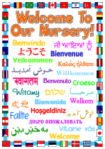 2. Welcome To Our Nursery Poster
