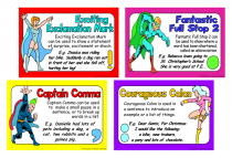 3. Punctuation Power Cue Cards