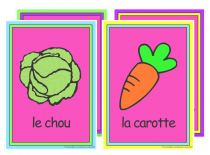 French Vegetables Poster Pack