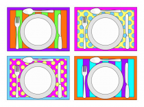 Funky Placemats