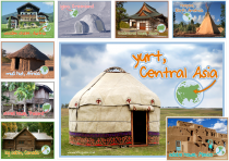 Homes Around The World Poster Pack
