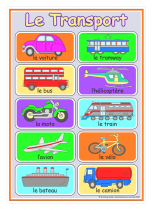 French Transport Poster