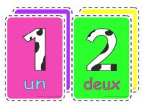French Numbers Poster Pack