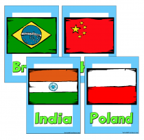 3. Flags Of The World Poster Pack