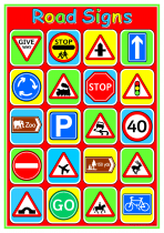 2. Road Signs Poster