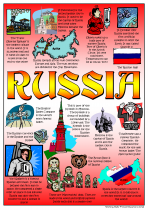 10. Russia Poster
