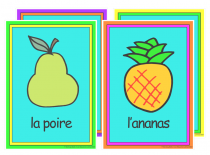 French Fruit Poster Pack